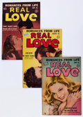 Golden Age (1938-1955):Romance, Real Love Group (Ace Periodicals, 1952-56) Condition: AverageVG/FN.... (Total: 12 Comic Books)