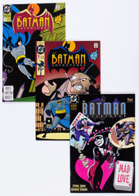 Batman Adventures-Related Group (DC, 1992-2001) Condition: Average NM-.... (Total: 42 Comic Books)