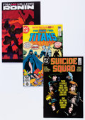 Modern Age (1980-Present):Superhero, DC Modern Age Comics Box Lot (DC, 1980s) Condition: AverageVF/NM....