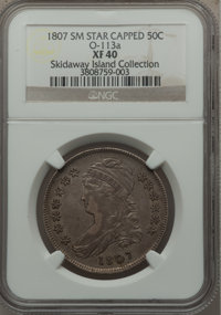 1807 50C Capped Bust, Small Stars, O-113, R.2, XF40 NGC....(PCGS# 39359)