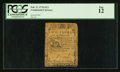 Colonial Notes:Continental Congress Issues, Continental Currency February 17, 1776 $2/3 PCGS Fine 12.. ...