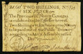 Colonial Notes:North Carolina, North Carolina December, 1771 2s6d Duck Very Good-Fine.. ...