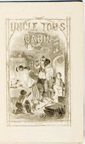 Books:Literature Pre-1900, Harriet Beecher Stowe. Uncle Tom's Cabin; or, Negro Life in the Slave States of America. London: G. Routledge and co...