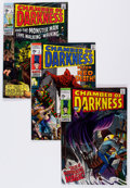Bronze Age (1970-1979):Horror, Chamber of Darkness #1-5 Group (Marvel, 1969-70) Condition: AverageVG+.... (Total: 19 Comic Books)