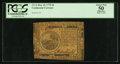 Continental Currency May 10, 1775 $6 PCGS Apparent About New 50