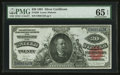 Large Size:Silver Certificates, Fr. 320 $20 1891 Silver Certificate PMG Gem Uncirculated 65 EPQ.....