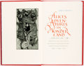 Books:Children's Books, Barry Moser, illustrator. INSCRIBED. Lewis Carroll. Alice'sAdventures in Wonderland. University of California P... (Total:2 Items)