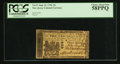 Colonial Notes:New Jersey, New Jersey June 22, 1756 15s PCGS Choice About New 58PPQ.. ...