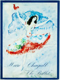 Books:Art & Architecture, Jacques Lassaigne. Marc Chagall: Drawings and Water Colors for The Ballet. New York: Tudor Publishing Co., [1969]. O...