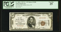 National Bank Notes:Wisconsin, Soldiers Grove, WI - $5 1929 Ty. 1 The First NB Ch. # 13308. ...