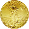 """Proof Saint-Gaudens Double Eagles: , 1909 $20 PR66 NGC. Struck in the """"Roman Finish"""" as opposed to thedarker matte finish seen on earlier years, these extraord..."""