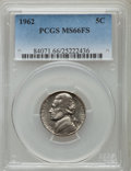 Jefferson Nickels: , 1962 5C MS66 Full Steps PCGS. PCGS Population (36/2). Numismedia Wsl. Price for problem free NGC/PCGS c...