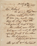 Autographs:Statesmen, [Republic of Texas]. Sam Houston Autograph Letter Signed...