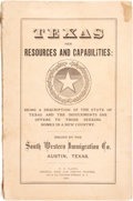 Books:Americana & American History, South Western Immigration Co. Texas Her Resources andCapabilities....