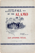 Books:Americana & American History, San Antonio: History, Battles, and Fall of the Alamo with Pointsof Interest, etc., of San Antonio, Texas,...