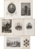 Miscellaneous:Ephemera, [Mexican War]. Group of Seven Mexican War Related Engravings....