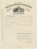 Miscellaneous:Ephemera, [Mexican War]. Pension Certificate....
