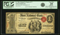 Wilmington, IL - $1 Original Fr. 380a The First NB Ch. # 177 PCGS Very Fine 20 Apparent