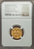 Ancients:Byzantine, Ancients: Heraclius & sons (AD 613-641). AV solidus (4.42gm)....