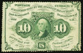 Fractional Currency:First Issue, Fr. 1240 10¢ First Issue About New.. ...