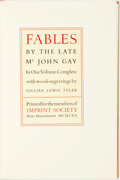Books:Fine Press & Book Arts, Gillian Lewis Tyler, illustrator. SIGNED/LIMITED. [John Gay].Fables by the Late Mr. John Gay. Barre: Imprint Societ...