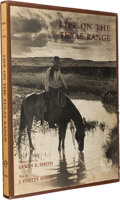 Autographs:Authors, J. Evetts Haley. Inscribed Copy of Life on the Texas RangeSigned....