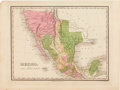 Miscellaneous:Ephemera, [Map]. Anthony Finley. Mexico....