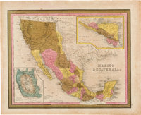 [Map]. Samuel Augustus Mitchell. Mexico & Guatemala