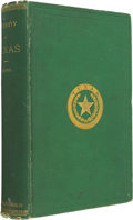 Miscellaneous:Ephemera, James M. Morphis. History of Texas, from Its Discovery andSettlement with a Description of Its Principal Cities andCou...
