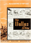 Books:Americana & American History, [Texana] Nelson A. Hutto. The Dallas Story...from Buckskins toTop Hat! Cartoons by Bill McClanahan. Dallas: William...