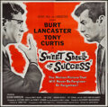 """Movie Posters:Drama, Sweet Smell of Success (United Artists, 1957). Six Sheet (79"""" X79""""). Drama.. ..."""