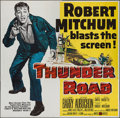 "Movie Posters:Crime, Thunder Road (United Artists, 1958). Six Sheet (79"" X 79""). Crime....."