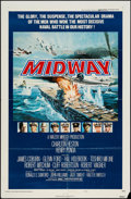 "Movie Posters:War, Midway (Universal, 1976). One Sheet (27"" X 41"") Style B. War.. ..."