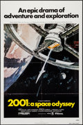 "Movie Posters:Science Fiction, 2001: A Space Odyssey (United Artists, R-1980). One Sheet (27"" X 41""). Science Fiction.. ..."