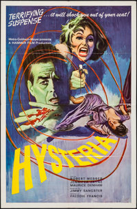 "Hysteria (MGM, 1964). One Sheet (27"" X 41""). Mystery"