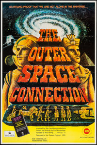 "The Outer Space Connection (Sun Classic, 1975). One Sheet (27"" X 40""). Documentary"