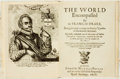 Books:Travels & Voyages, [Travels and Voyages.] Sir Francis Drake. The World Encompassed. [with:] William Cornelison Schouten. The Re...