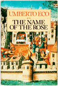 Books:Literature 1900-up, Umberto Eco. The Name of the Rose. Harcourt Brace Jovanovich, [1980]. First edition. Publisher's cloth and original ...