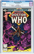 Modern Age (1980-Present):Science Fiction, Marvel Premiere #59 Doctor Who (Marvel, 1981) CGC NM/MT 9.8 Whitepages....