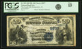 Montgomery, AL - $20 1882 Date Back Fr. 555 The Fourth NB Ch. # (S)5877 PCGS<