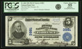 Florence, AL - $5 1902 Plain Back Fr. 600 The First NB Ch. # 3981 PCGS Choice About New 55 A