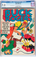 Golden Age (1938-1955):Science Fiction, Buck Rogers #3 (Eastern Color, 1941) CGC VF- 7.5 Cream to off-whitepages....