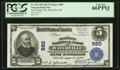 National Bank Notes:Maine, Waterville, ME - $5 1902 Plain Back Fr. 598 The Peoples NB Ch. #880. ...