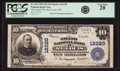 National Bank Notes:Missouri, Saint Louis, MO - $10 1902 Plain Back Fr. 635 The Grand NB Ch. #12220 PCGS Very Fine 20.. ...