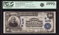 National Bank Notes:Missouri, Saint Louis, MO - $10 1902 Plain Back Fr. 627 The NB of CommerceCh. # (M)4178 PCGS Extremely Fine 45PPQ.. ...