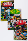 Bronze Age (1970-1979):Horror, Creatures on the Loose Group (Marvel, 1971-75) Condition: VG+....(Total: 56 Comic Books)