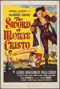 "Movie Posters:Adventure, The Sword of Monte Cristo (20th Century Fox, 1951). One Sheet (27""X 41""). Adventure.. ..."