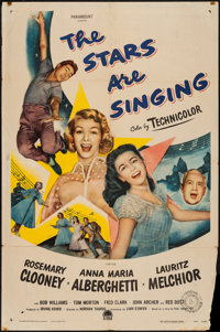 "The Stars are Singing & Others Lot (Paramount, 1953). One Sheets (3) (27"" X 41""). Musical. ... (Total:..."
