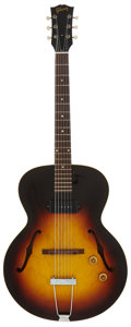 Musical Instruments:Electric Guitars, 1959 Gibson ES 125 T Sunburst Semi-Hollow Body Electric Guitar,Serial # S245014....