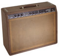 Musical Instruments:Amplifiers, PA, & Effects, 1962 Fender Vibrolux Brown Guitar Amplifier, Serial # 03804....